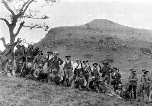 South Africa, Boer War, 1900. Come on, guys, if you quit on slavery, you might as well quit on colonialism. And that thing you Brits call 'cuisine'.