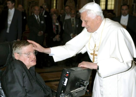 """Today we remember Stephen Hawking for his role in ending euhm…wheelchair inaccessibility at the Vatican. Praise the Hawk!"""
