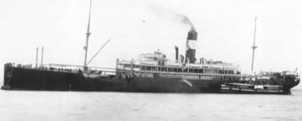 Pictured: SS Waratah.