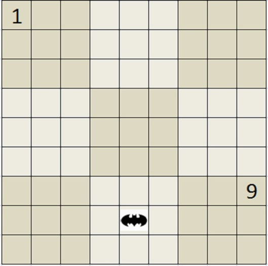 ...such as forcing humans to solve ths Sudoku. Yes, that's the Batman symbol.